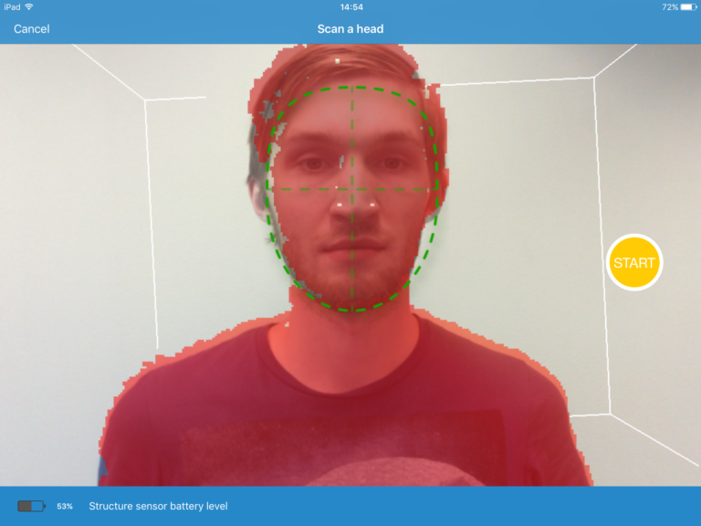 Good face scanning